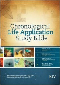 Photo of Chronological Bible, KJV.